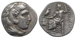 Ancient Coins - Kings of Macedon, Alexander III 'the Great' (336-323 BC). AR Drachm. Abydos, c. 325-323 BC.