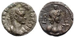 Ancient Coins - Claudius II (268-270). Egypt, Alexandria. BI Tetradrachm - year 2 - R/ Hermanubis