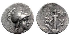 Ancient Coins - Caria, Kaunos, c. 166-150 BC. AR Hemidrachm, Sword.