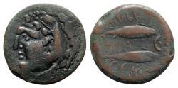 Ancient Coins - Spain, Gadir, late 2nd century BC. Æ