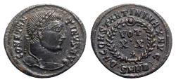 Ancient Coins - Constantine I (307/310-337). Æ Follis - Heraclea