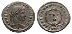 Ancient Coins - Constantine II (Caesar, 316-337). Æ Follis - Treveri
