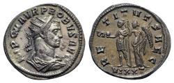 Ancient Coins - Probus (276-282). Radiate - Ticinum
