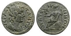 Ancient Coins - Lydia, Thyatira. Pseudo-autonomous issue, time of Severus Alexander-Philip I. Æ  - Senate / Athena