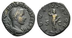 Ancient Coins - Gordian III. AD 238-244. Æ Sestertius. Rome mint, 2nd officina. 9th-11th emissions, AD 241-243. R / JUPITER