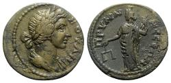 Ancient Coins - Phrygia, Prymnessus. Autonomous Issue, time of Septimius Severus (193-211). Æ - Boule / Dikaiosyne