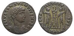 Ancient Coins - Constantine II (Caesar, 316-337). Æ 16mm. Alexandria.