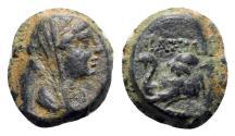 Ancient Coins - Seleukid Kings, Antiochos IV (175-164 BC). Æ