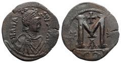 Ancient Coins - Anastasius I (491-518). Æ 40 Nummi - Follis. Constantinople, 498-518. NICE