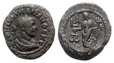 Ancient Coins - Numerian (283-284). Egypt, Alexandria. BI Tetradrachm - R/ Dikaiosyne - RARE
