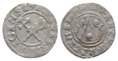 World Coins - LATVIA, Riga (Archbishopric). temp. Thomas Schöning. 1528-1539. BI Schilling. Dated 1534.