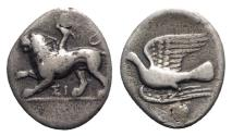 Ancient Coins - Sikyon, c. 330/20-280 BC. AR Hemidrachm
