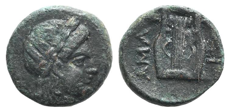 Ancient Coins - Troas, Hamaxitos, c. 400-310 BC. AE 10mm