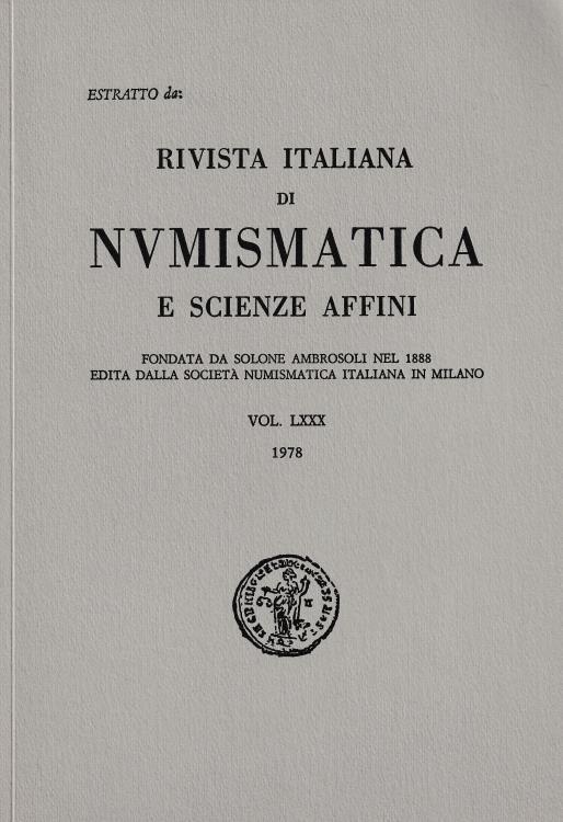 """Ancient Coins - Murari O., Sui denari di Pisa e di Lucca dell'imperatore Federico I. Reprinted from """"Rivista Italiana di Numismatica e Scienze Affini Vol. LXXX"""""""