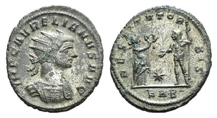 Ancient Coins - Aurelian. 270-275 AD. Antoninianus. Struck 274-275 AD. Serdica mint. R/ RESTITVT OR-BIS