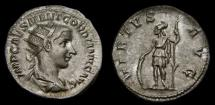 Ancient Coins - Gordian III, A.D. 238-244, AR Antoninianus (22 mm, 3.89 gm., 1h), Rome, Struck A.D. 240