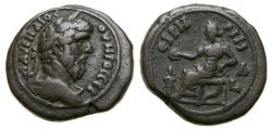 Ancient Coins - Roman Egypt, Alexandria, Lucius Verus, 161-169 AD, Billon Tetradrachm (25 mm, 13.38 g, 11h), Dated Year 1, AD 161, Good VF++ Ex Elsen