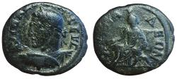 Ancient Coins - Thrace, Anchialus, Maximinus I, 235-238 CE, Æ (19 mm, 3.92 g., 6h) VF