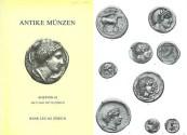 Ancient Coins - Bank Leu 42 ANTIKE MUNZEN - May 12, 1987 - Leu 42 Ancient Coins - Celtic and Greek Coins Numismatic Literature