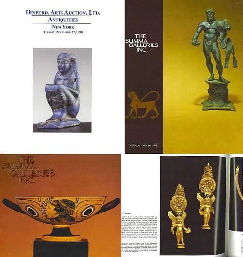 AUCTION I 1981 ANCIENT GREEK ROMAN AND BYZANTINE ART THE SUMMA GALLERIES INC