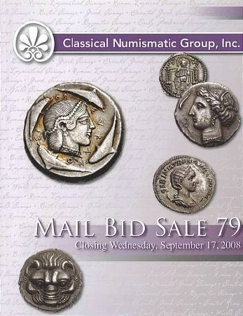 Ancient Coins - CNG 79 - Classical Numismatic Group CNG - Auction 79 September 17, 2008