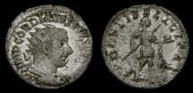 Ancient Coins -  Gordian III, A.D. 238-244, AR Antoninianus (23 mm, 4.02 gm.,12h), Rome, Struck A.D. 240
