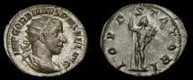 Ancient Coins - Gordian III, A.D. 238-244, AR Antoninianus (22 mm, 3.50 gm.,7h), Rome, Struck A.D. 240