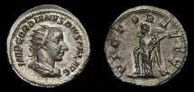 Gordian III, A.D. 238-244, AR Antoninianus (23 mm, 4.28 gm., 7h), Rome, Struck A.D. 243/244