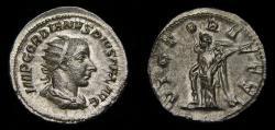 Ancient Coins - Gordian III, A.D. 238-244, AR Antoninianus (23 mm, 4.28 gm., 7h), Rome, Struck A.D. 243/244