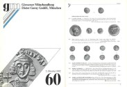 Ancient Coins - Gorny & Mosch - Giessner Munzhandlung - Auction 60 - October 5, 1992 - Ancient Coins