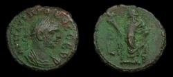 Ancient Coins - Roman Egypt, Alexandria. Probus (A.D. 276-282) Bilon Tetradrachm (21 MM, 7.31 GM, 11 H) Dated Year 2, VF+