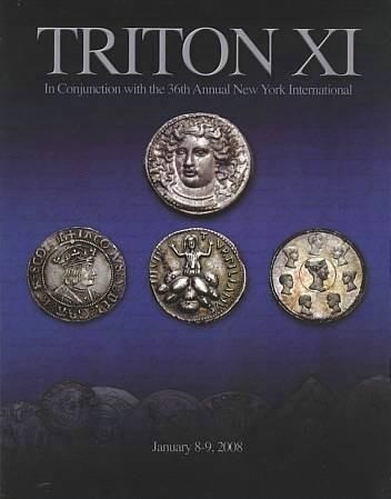 Ancient Coins - CNG Triton XI, January 8-9, 2008 - Auction Catalogue