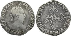 World Coins - FRANCE, Henri III (1574-1589) AR Franc (33 mm, 13.60 g, 8h), 1585-A, Paris Mint VF