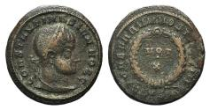 Ancient Coins - Constantine II as Caesar, 316-337, Æ Follis (18 mm, 2.90 g, 12h) Siscia Mint, 320-1 Fine+