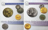 Ancient Coins - Classical Numismatic Group CNG - Auction 76 Sept. 12 2007 in 2 Parts