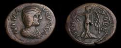 Ancient Coins - Macedon, Stobi, Julia Domna, AD 193-217 Æ (25 mm, 5.44 g, 6h) Good VF