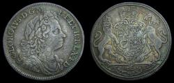 Ancient Coins - Great Britain c. 1714 Britain George I Silver Medal Proclaimed King Eimer 471 EF
