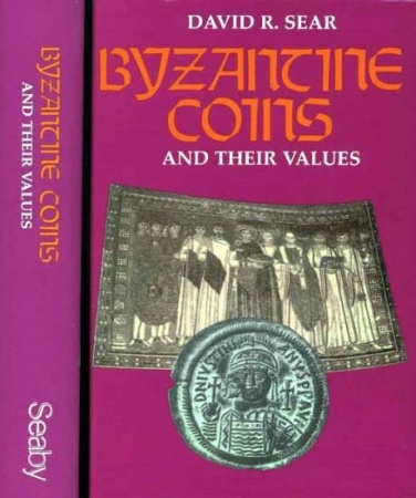 Ancient Coins - Byzantine Coins and their Values by David R. Sear (Used - Very Fine+ Condition)