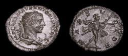 Ancient Coins - Elagabalus, AD 218-222, AR Antoninianus (22 mm, 4.85 g, 6h), Rome mint, Struck AD 219 VF