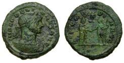 Ancient Coins - Aurelian, A.D. 270-275,. Æ As (27 mm, 10.56 gm., 12h). Rome mint, January-September AD 275 VF