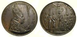 World Coins - Austria, Linz, Bishop Franz Maria Doppelbauer, 1895 AR Medal (40 mm, 22.86 g, 12H) by Leo Zimpel, Wurz. 1696 AU++