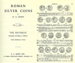 Ancient Coins - Roman Silver Coins Volume I - Republic - Augustus by H A Seaby 1952 Edition