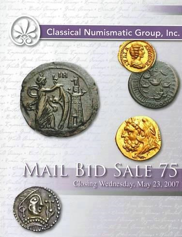 Ancient Coins - CNG 75 - Classical Numismatic Group CNG - Auction 75 May 23, 2007