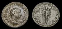Gordian III, A.D. 238-244, AR Antoninianus (23 mm, 2.59 gm., 7h), Rome, Struck A.D. 243/244