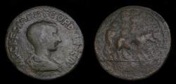 Ancient Coins - PISIDIA, Antiochia, Gordian III, A.D. 238-244 Æ (35 mm, 26.28 gm., 7h) aVF/F