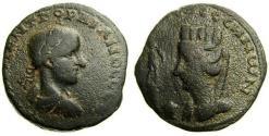 Ancient Coins - MESOPOTAMIA, Edessa, Gordian III, A.D. 238-244, Æ 28 mm (16.17 gm., 10h), aVF