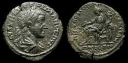 Ancient Coins - MOESIA INFERIOR, Nicopolis ad Istrum, Gordian III, AD 238-244. Æ Tetrassarion (27 mm, 13.08 g, 7h). Sabinus Modestus, Legatus Consularis, Struck AD 241-244 VF