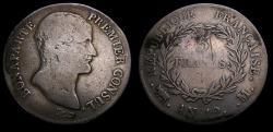 Ancient Coins - France AN12M 5 Francs Napoleon Bonaparte Toulouse Mint Mintage 427,000 KM#660.8 Fine+ 6362