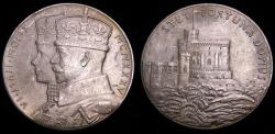 Ancient Coins - George V Silver Jubilee 1935 Royal Mint Medal Sterling Silver 6329