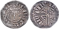 Ancient Coins - PLANTAGENET. Henry III. 1216-1272. AR Penny (17.5mm, 1.46 g, 9h). Long cross type, class IIIa1. London mint; Nicholas of St. Albans, moneyer. Struck circa 1248-1250 VF Ex CNG